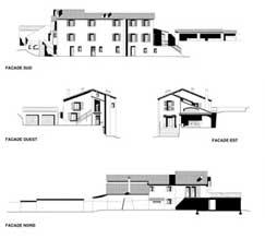Amenagement du jardin et création d'un accès pour la Villa bleue