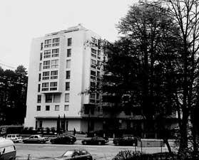 Immeuble  d'habitation pour la Fondation Louis Jeantet