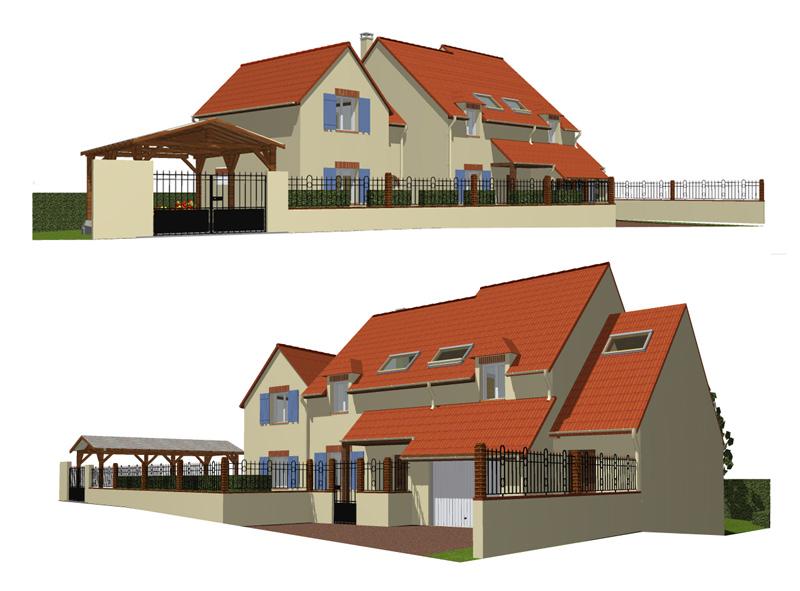 Image Principale - Extension d'un pavillon à Morainvilliers
