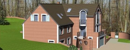 Image Principale - Extension d'un pavillon à Noisiel