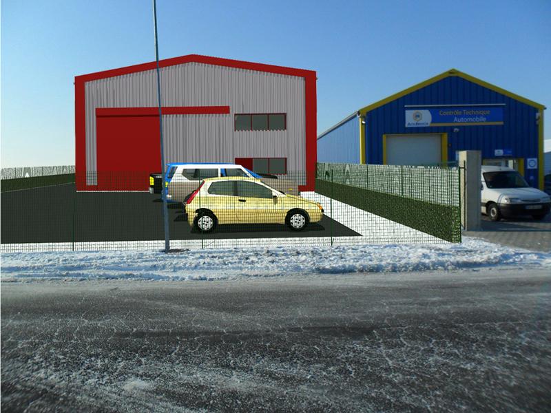 Image Principale - Hangar industriel à Gallardon