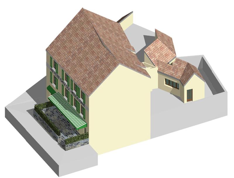 Image Principale - Aménagement du restaurant le Ptichesoi à La Celle-Saint-Cloud