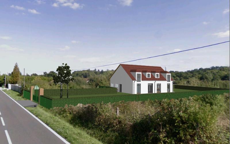 Image Principale - Transformation d'un bâtiment agricole en maison individuelle à Rambouillet