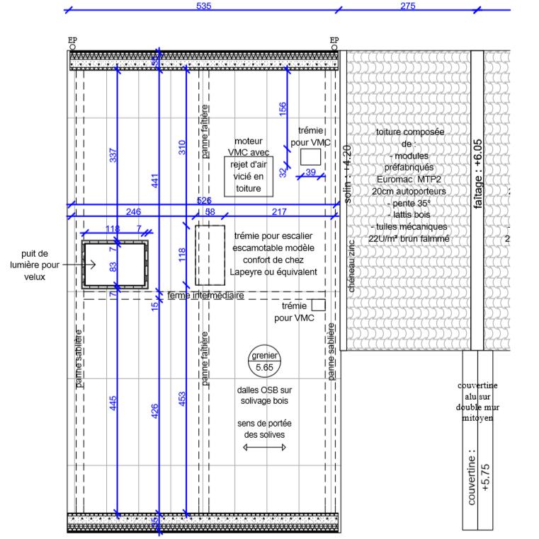 Plan  deux maisons 3