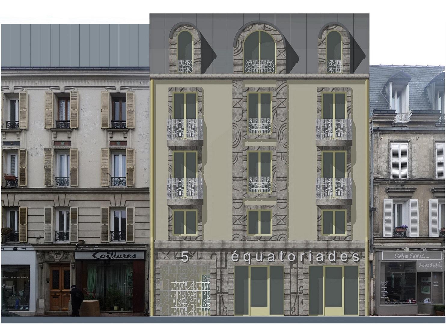 Image Principale - Immeuble collectif à Maisons-Laffitte
