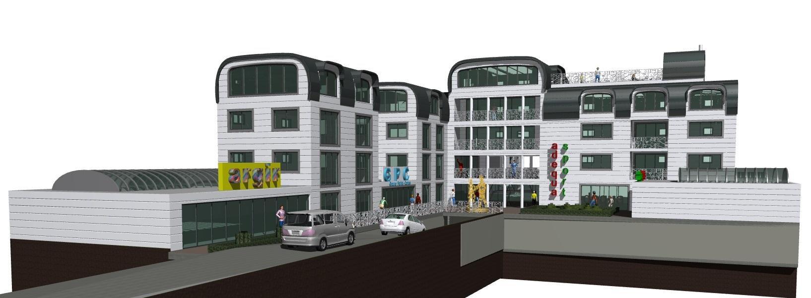 Image Principale - Immeuble collectif avec magasins en pied à Croissy-sur-Seine