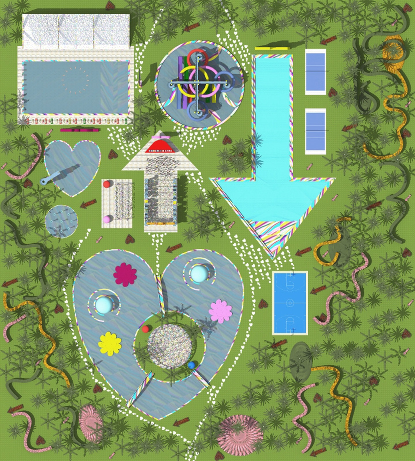 WATER PARK PLAN MASSE 2