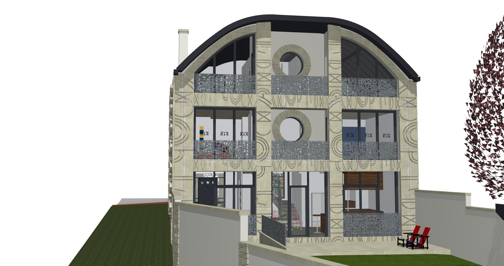 Architecte maison individuelle yvelines maison moderne for Architecte maison individuelle