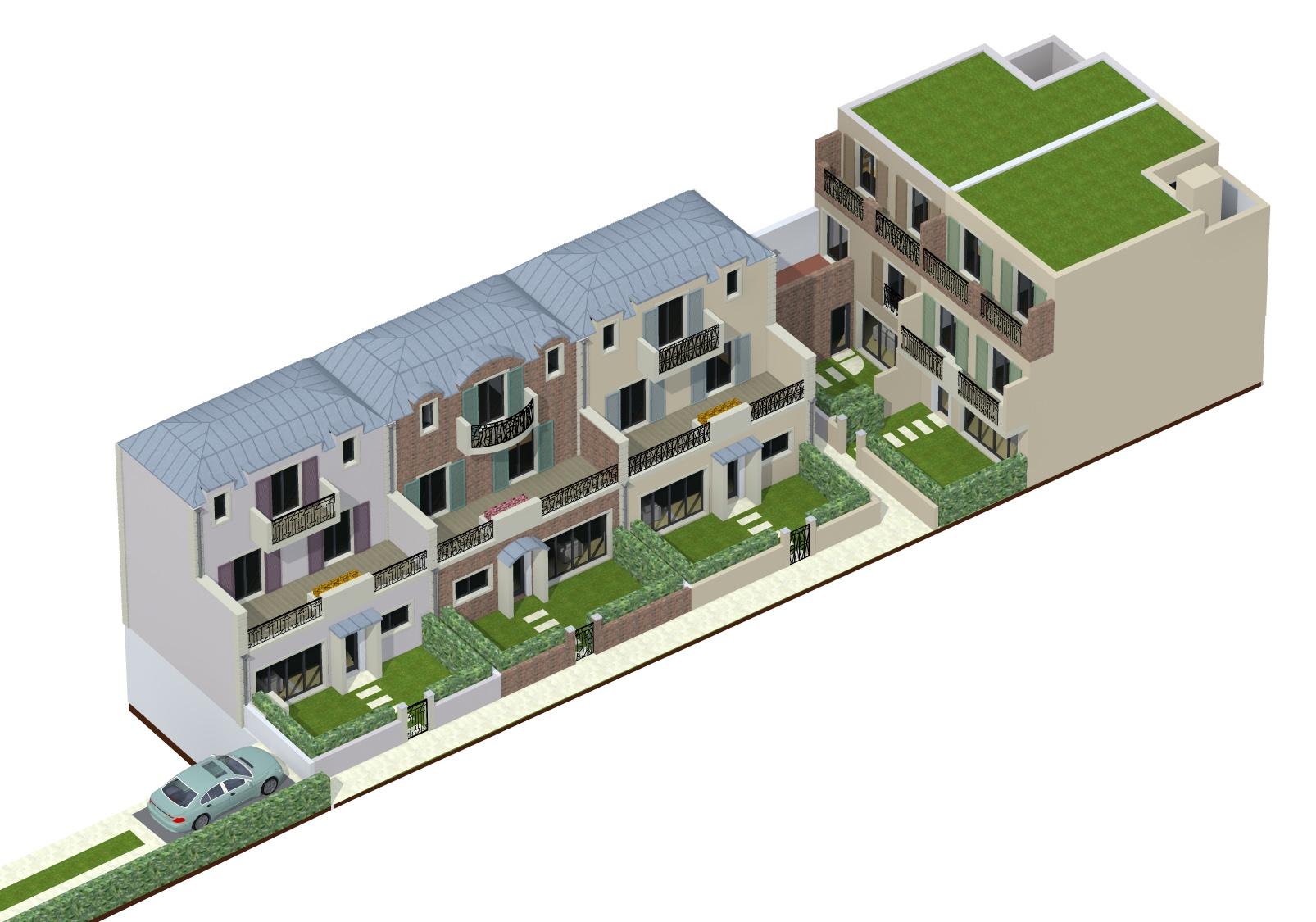 Image Principale - 5 Maisons de ville à Rueil-Malmaison