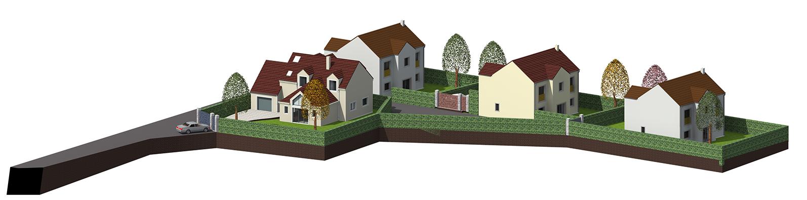 Image Principale - Projet de lotissement à Aubergenville